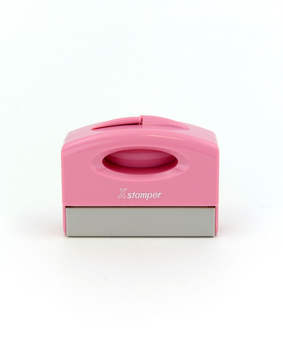 New ECO-GREEN Xstamper® Pink Pocket Stamp